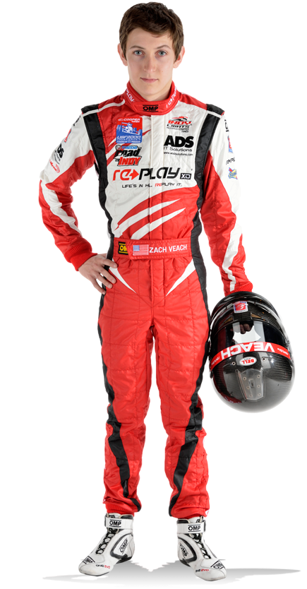Zach Veach, Andretti Autosport indycar indylights driver